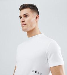 Трикотажная футболка с принтом логотипа Noak - Белый