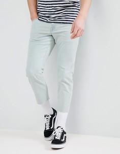 Узкие выбеленные джинсы ASOS DESIGN - Синий