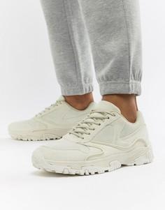 Белые кроссовки на толстой подошве ASOS DESIGN - Белый