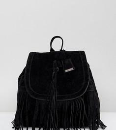 Черный рюкзак с кисточкой Glamorous - Черный
