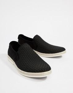 Кеды-слипоны ALDO Polidori - Черный