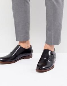 Черные кожаные монки ALDO - Черный
