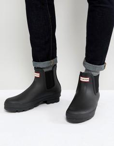 Черные ботинки челси Hunter - Черный
