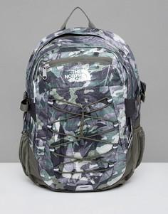 Зеленый классический рюкзак с камуфляжным принтом The North Face Borealis - 29 л - Зеленый