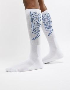 1 пара белых носков Vans VA3H3MWHT - Белый