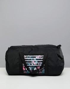 Спортивная сумка с тропическим принтом Only Play - Черный