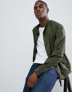 Куртка Харрингтон цвета хаки BOSS Osames - Зеленый
