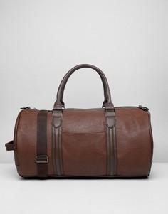 Светло-коричневая сумка из искусственной кожи River Island - Рыжий