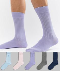 Комплект из 5 пар носков с принтом River Island - Мульти