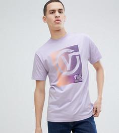 Сиреневая оversize-футболка с принтом Vans эксклюзивно для ASOS - Розовый