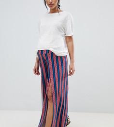 Широкие брюки с разрезами и ацтекскими полосками ASOS DESIGN Maternity - Мульти