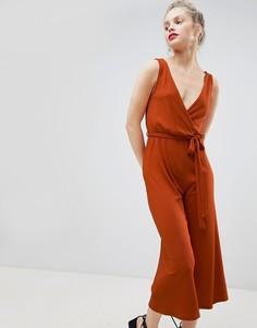 Комбинезон с юбкой-шортами New Look - Красный