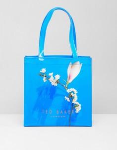 Маленькая сумка с цветочным принтом Ted Baker - Синий