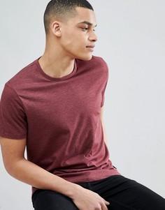 Бордовая футболка Burton Menswear - Розовый