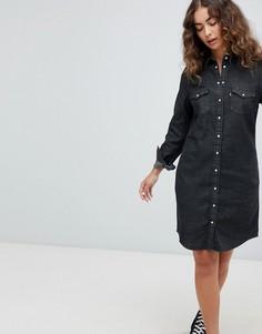Джинсовое платье в стиле вестерн Levis Ultimate - Черный Levis®