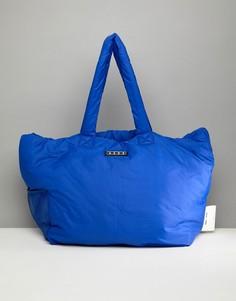 Стеганая сумка-шоппер ASOS 4505 - Синий