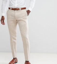 Облегающие брюки из твида Noak - Бежевый