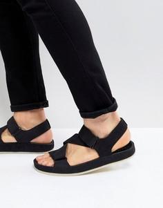 Черные нубуковые сандалии Clarks Originals Ranger - Черный