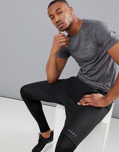 Облегающая меланжевая футболка ASOS 4505 - Серый