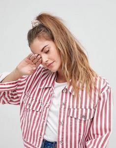 Резинка для волос с отделкой пайетками ASOS DESIGN - Мульти