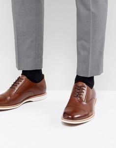Кожаные туфли на шнуровке ALDO - Рыжий