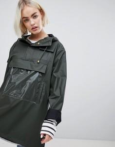 Блестящая куртка Rains - Зеленый