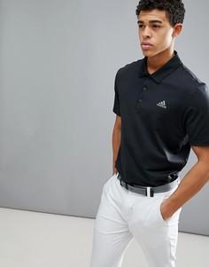 Черная футболка-поло adidas Golf Ultimate 365 CY5403 - Черный
