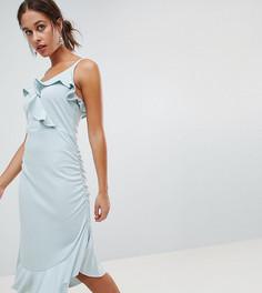 Платье для кормления с оборками Mamalicious - Синий Mama.Licious