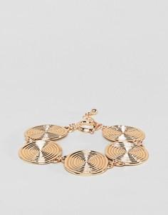 Броский браслет ASOS DESIGN - Золотой