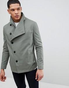 Асимметричная куртка цвета хаки Religion - Зеленый