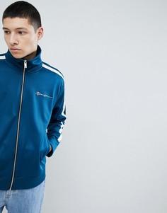 Сине-зеленая спортивная куртка с кантом Mennace - Зеленый