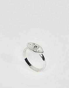 Кольцо на мизинец ASOS DESIGN - Серебряный