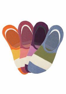 Короткие носки, 4 пары Arizona