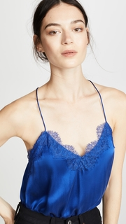 CAMI NYC The Racer Charmeuse Top