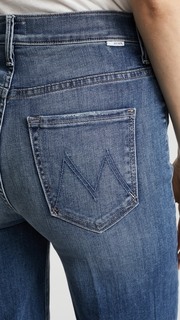 MOTHER The Swooner Roller Jeans