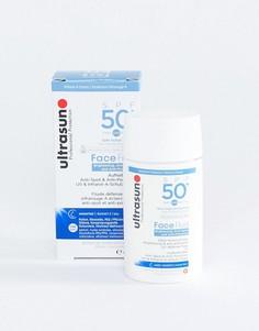 Лосьон с защитой от вредного воздействия окружающей среды и SPF 50 Ultrasun - 40 мл - Бесцветный