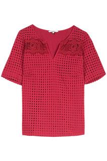 Перфорированная блузка