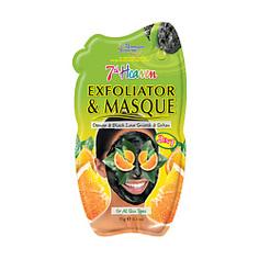 MONTAGNE JEUNESSE Маска для лица отшелушивающая с вулканической лавой и апельсиновыми корками 15 г