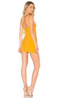 Мини платье со шнуровкой gracey - NBD