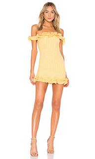 Мини-платье с открытыми плечами dustin - Lovers + Friends