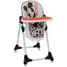 "Стульчик для кормления Polini 470 ""Микки Маус"" Disney baby, серый"