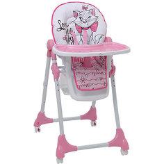 """Стульчик для кормления Polini 470 """"Кошка Мари"""" Disney baby, розовый"""