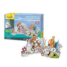 """Пазл- раскраска 3D CubicFun """"Пчела и улитка"""""""