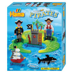 "Термомозаика Hama Perlen ""Пираты"" + 1 основа, 3000 бусин"