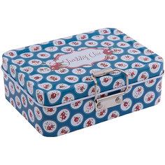 """Коробка для безделушек и мелочей """"Шебби шик синяя"""" (12.5*9*4см) Феникс Презент"""