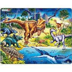 """Пазл Larsen """"Динозавры"""", 57 элементов"""