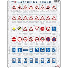 """Пазл Larsen """"Дорожные знаки"""", 48 элементов"""