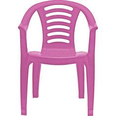 Детский стульчик PalPlay со спинкой, розовый