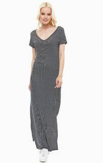 Длинное платье в полоску Lerros
