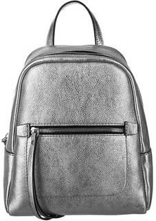 Рюкзак из зерненой кожи с одним отделом Gianni Chiarini